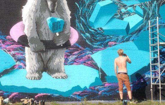 2015- Kaunas, Lithuania. Collaboration with TEG & Benjamin Winkel