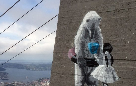 2015 Ice Diamond - Top of Mount Ulriken, Bergen
