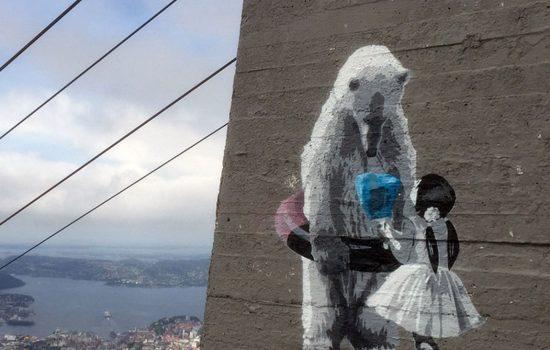 2015 Ice Diamond - Top of Mount Ulriken, Bergen